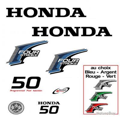 1 kit stickers honda bf 50 cv serie 2 pour capot moteur. Black Bedroom Furniture Sets. Home Design Ideas