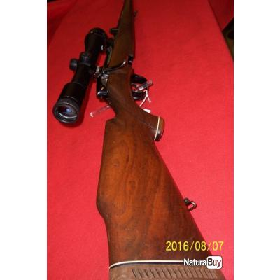 Carabine Steyr Mannlicher L Stutzen d'occasion 270 Winchester, lunette Zeiss diatal ZM  6X42 T*