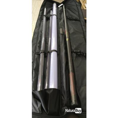 Pack complet canne emboîtement Browning Xitan Z10 Revolution 13 mètres,kit 4/1,cup kit,fourreau....