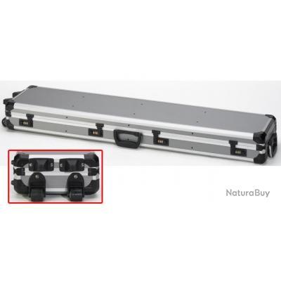 mallette roulettes en aluminium pour fusil racing mallettes 3477650. Black Bedroom Furniture Sets. Home Design Ideas