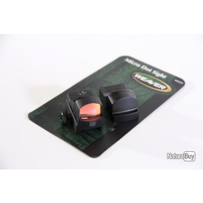 Viseur Point Rouge Weaver Micro Dot sight  Point rouge 4 MOA