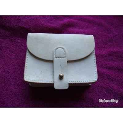 Cartouchi re en buffle de couleur blanche porte chargeurs 3487456 - Blanche porte suivi de colis ...