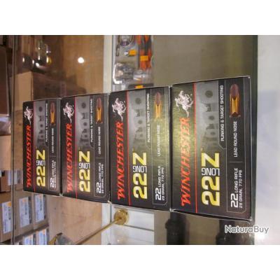 Balles 22LR Winchester courte 22 Z long à 6.50€ la boite de 50