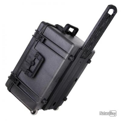 Caissse PVC à roulettes, étanche et hermétique : IP67 MAX620 - 359936