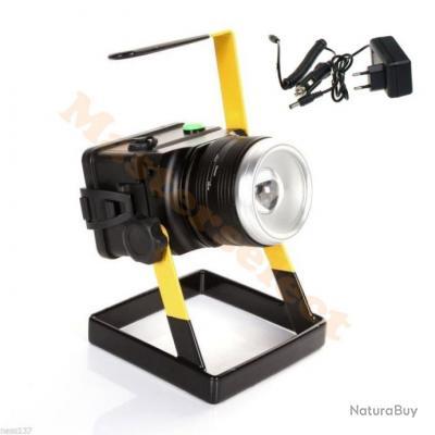 Promo Sur Chargeur Lampe Rechargeable 12v Led Xml Cree Support 230v Projecteur PlkXZOTwiu