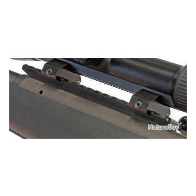 Montage avec embases fixes pour rail weaver pour rail SR de Swarovski + rail weaver