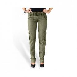 Taille 34 - Pantalon Treillis Cargo Femme Premium Slimmy Kaki Surplus  Vintage 1cb605bd23f6