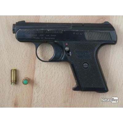 pistolet a blanc cal 8mm made in germany pistolets d 39 alarme 3545231. Black Bedroom Furniture Sets. Home Design Ideas
