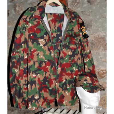 Tenue de l 39 arm e suisse des ann es 80 tenues compl tes militaria 3558010 - Annee 80 tenue ...