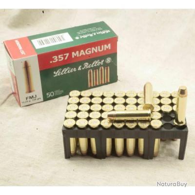 357 Magnum Sellier et Bellot  par boite de 50