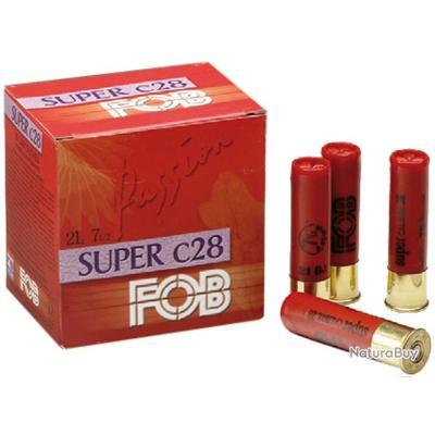 Cartouches Fob Passion Super 28 calibre 28 70 Numéro
