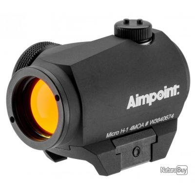 Point rouge Aimpoint micro H1 4MOA