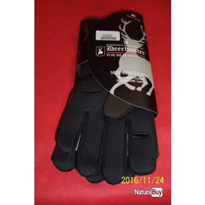 GANTS NEOPRENE, Deerhunter, index avec fente