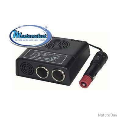 Transformateur 24v 12v allume cigare
