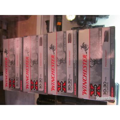 Balles 30-30 winchester à partir de 32€ la  boite 20 balle dispo en 150 e 170 grains