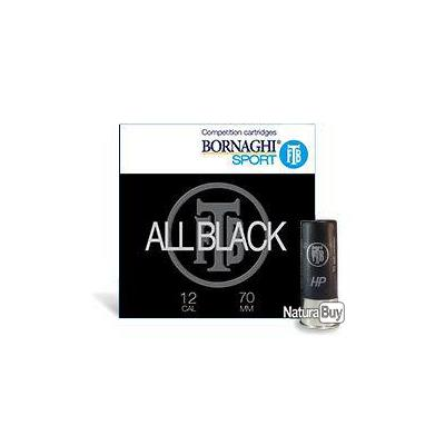 1 carton soit 250  Bornaghi All- Black  28g bourre a jupe plombs 7 1/4
