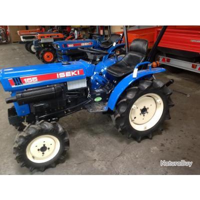 tracteur iseki d 39 occasion tx 155 4 rm 18 cv tracteurs et accessoires 3587148. Black Bedroom Furniture Sets. Home Design Ideas