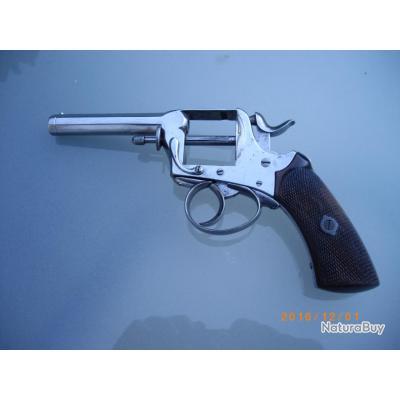 """Revolver de marque  """"DEPOISSE Arquebusier a LILLE"""" sans prix de reserve."""