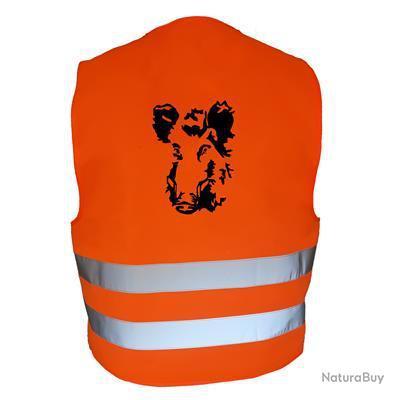 Gilet de chasse Orange - sanglier 3 -