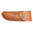 Etui cuir de vachette marron 10 cm (3)