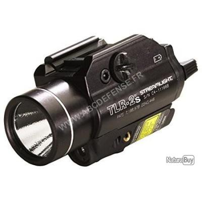 LAMPE TACTIQUE STREAMLIGHT TLR-2S AVEC STROBE