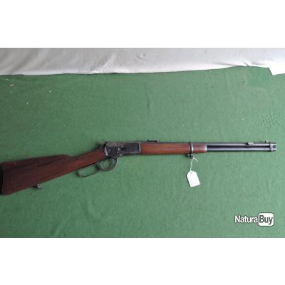 Rare Carbine WINCHESTER 1892 en 44WCF équipée d'un tenon de baïonnette
