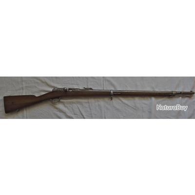 Fusil Chassepot modifié Gras  Mle 1866 -74 M 80 d'origine