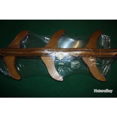 Porte fusil mural bois rateliers et porte fusils 3610547 for Meuble porte fusils bois