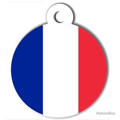 Médaille gravée pour chien FRANCE