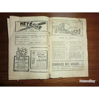 Almanach du combatant 1929