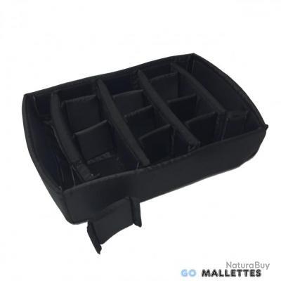 GoMallettes - KIT CLOISONS MOBILES SEPARATEURS SOUPLES MALLETTE PROTECTION PHOTO/ARME/CHARGEURS