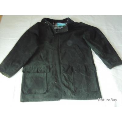 veste de chasse en coton huil de marque anglaise vestes et blousons de chasse 3653262. Black Bedroom Furniture Sets. Home Design Ideas