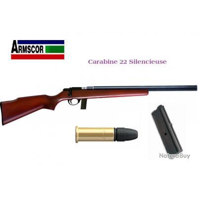Carabine M1400 TM silencieuse  Cal. 22 Lr / Bois
