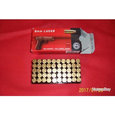 Balles GECO 9mm Luger