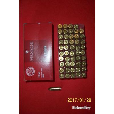 50 balles Fiocchi   9mm Luger