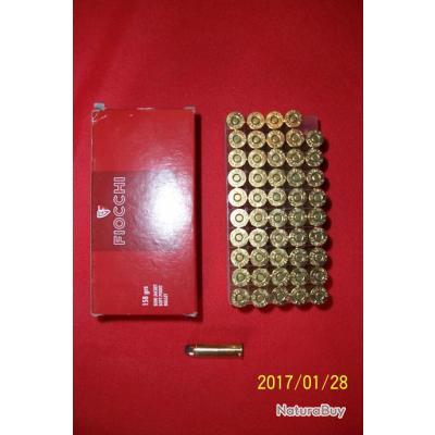 50 balles Fiocchi   38 special 158 grains semi jacket soft point