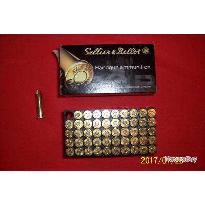 50 balles Sellier & Bellot, 357 magnum
