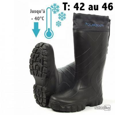 Bottes Thermo Polar Boots ( Grand Froid ) T: 42 BiByLu