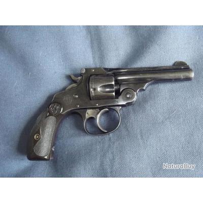 Revolver Smith&Wesson calibre 32 short (bleu d'origine)