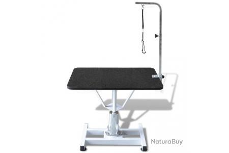 Table Toilettage Ajustable Hydraulique Pour Chiens Avec Pivot