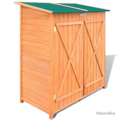 abri de jardin grand coffre de rangement en bois jardin. Black Bedroom Furniture Sets. Home Design Ideas