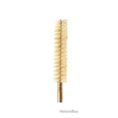 Ecouvillon en crin cal.12mm doré