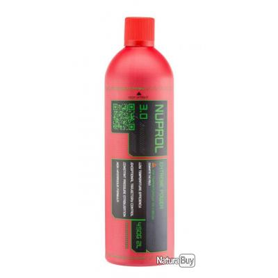 Gaz Airsoft hiver Nuprol premium 3.0 bouteille 2000ml 450gr