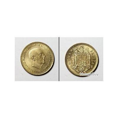 piece de monnaie una peseta 1966