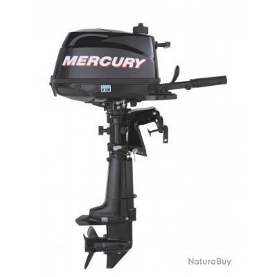 Moteur mercury 6cv avec réservoir