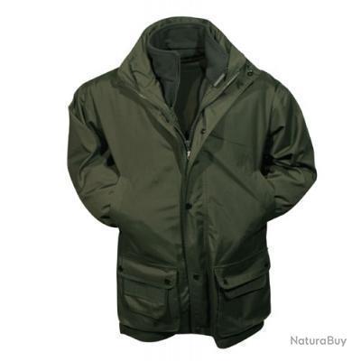 veste chasse BATTUE verte impermeable camosport  L, XL,  ! top ! ! 1 euro sans reserve !