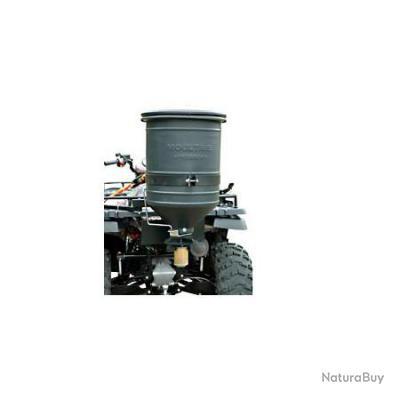 Agrainoir linéaire pour quad 50 litres, 12 volts.