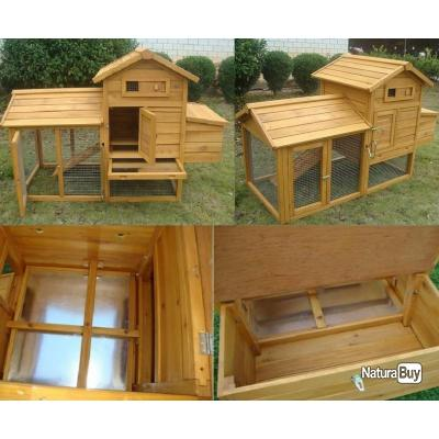 poulailler abri poule caille clapier volaille coq enclos. Black Bedroom Furniture Sets. Home Design Ideas