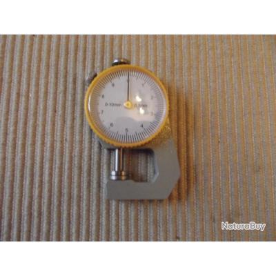 A SAISIR - Jauge d'épaisseur PRO 0-10x0.1mm NEUVE; liquidation ancienne armurerie