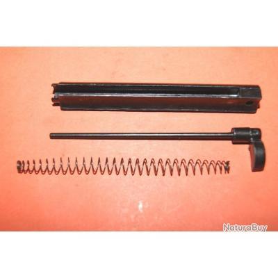 VENDU PAR JEPERCUTE lot NEUF support + ejecteur + ressort de revolever type RECK pièce détachée arme